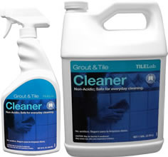 New Packaging of Grout & Tile Cleaner